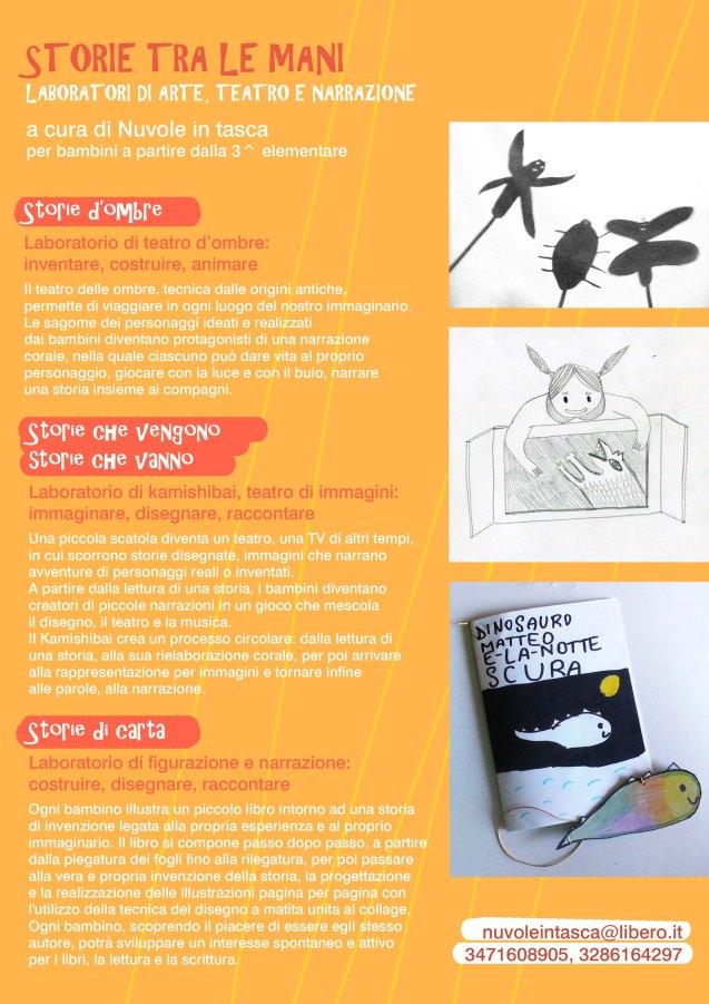 STORIE TRA LE MANI_laboratori di arte, teatro e narrazione_sito